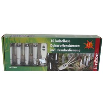 sans fil bougies led 10 x led naeve achat prix fnac