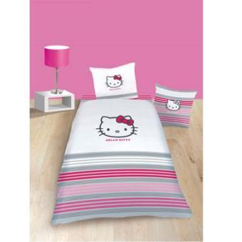 Parure de lit hello kitty sarah housse de couette for Housse de couette sarah kay