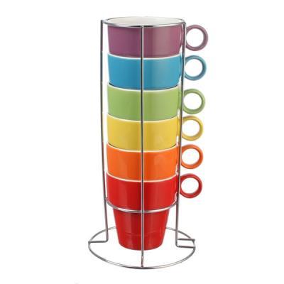 Image du produit Ensemble de 6 tasses pour cappuccino, chocolat