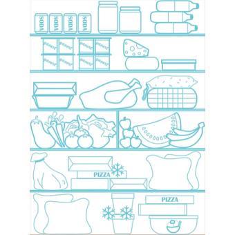 c coa stoppy rideau coupe froid pour frigo 60 cm x 80. Black Bedroom Furniture Sets. Home Design Ideas
