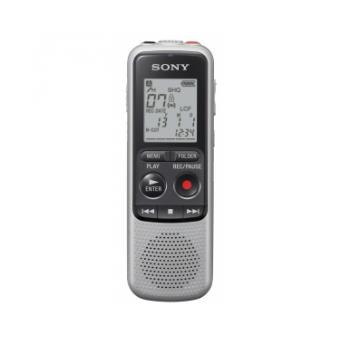 Dictaphone et Magn�tophone SONY ICDBX132 ARGENT 2go