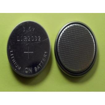 1 pile bouton cr2032 li ion rechargeable 3 6v lir2032 achat prix fnac. Black Bedroom Furniture Sets. Home Design Ideas