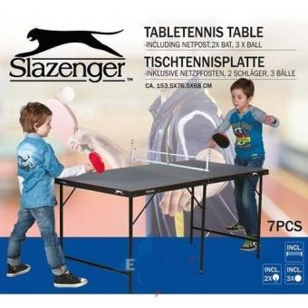 mini tennis de table ping pong slazenger pliante raquettes balles pliable transportable achat