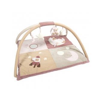 tapis d 39 veil rose milo l na nattou achat prix fnac. Black Bedroom Furniture Sets. Home Design Ideas