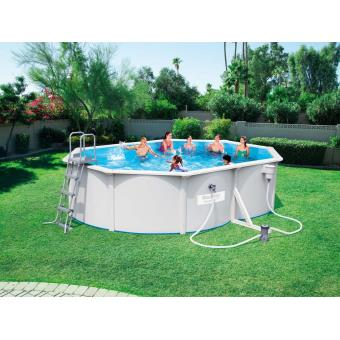 Piscine autoportante tubulaire bestway hydrium ovale steel for Achat piscine autoportante
