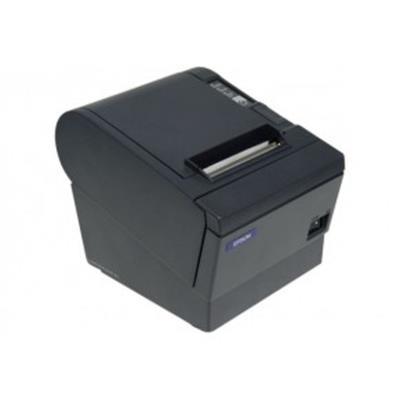 ImPrimante thermique EPSON TM-T88V interface usb / RS-232 pour tickets de caisse.Fournie avec alimentation.Vitesse d+impression 300 mm/s.Capacité de colonnes «receipt» Largeur de papier 80 mm, 56 / 42.Hauteur de caractères 0,99 mm (L) x 2,4 mm (H) / 1,41