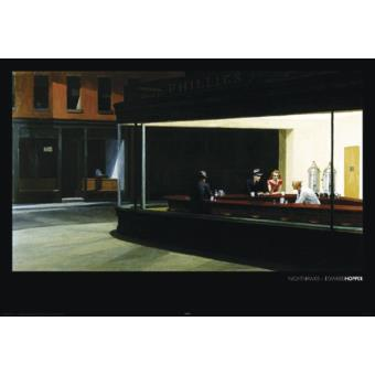 1art324Poster Edward Hopper Nighthawks I X cm: Amazon