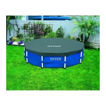 B che pour piscine tubulaire ronde 3 66m intex achat for Bache piscine intex 3 66