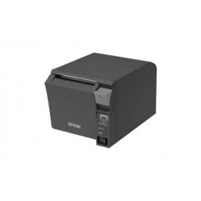 L´ EPSON TM-T70II +PS-180 a été spécialement conçue pour les espaces de vente réduits. Elle est encastrable dans le meuble de caisse et le chargement papier se fait par la face avant.Cette imPrimante de tickets pour point de vente est particulièrement ada