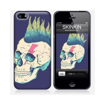 coque iphone 5 et 5s de chez skinkin design original skull punk par victor 39 s beard achat. Black Bedroom Furniture Sets. Home Design Ideas