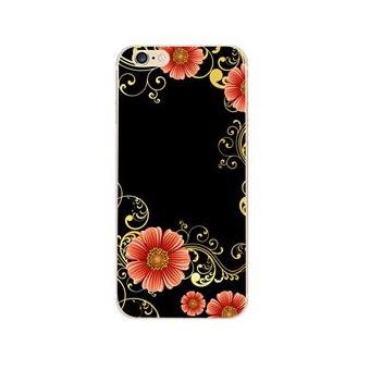coque gel souple incassable avec impression de motif fantaisie pour iphone 6 fleur achat. Black Bedroom Furniture Sets. Home Design Ideas