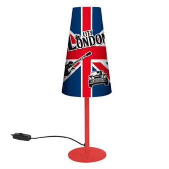 Lampe london achat prix fnac for Lampe de chevet london