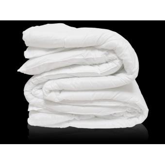 couette microfibre blanche pour grand lit 2 places achat prix fnac. Black Bedroom Furniture Sets. Home Design Ideas