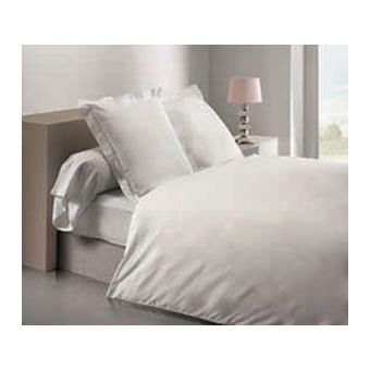 drap housse 160x200 cm percale blanc achat prix fnac. Black Bedroom Furniture Sets. Home Design Ideas
