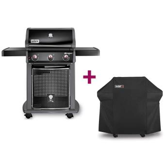 barbecue weber spirit classic e 310 housse achat prix fnac. Black Bedroom Furniture Sets. Home Design Ideas