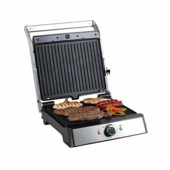 grill viande et panini gris et noir domoclip doc166. Black Bedroom Furniture Sets. Home Design Ideas