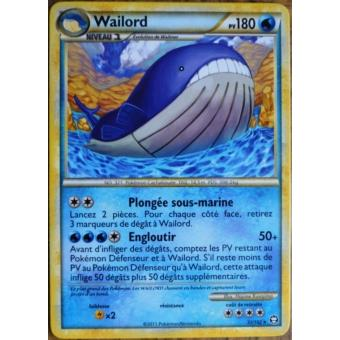 Carte pok mon 31 102 wailord 180 pv s rie hs triomphe neuf - Carte pokemon wailord ...