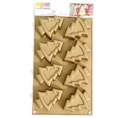 Image du produit Moule en silicone - Moule multi ScrapCooking® : Sapins
