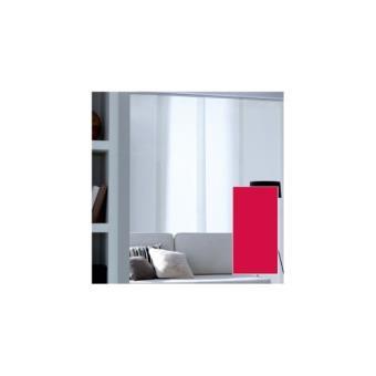panneau japonais tamisant uni rouge 45x260cm achat prix fnac. Black Bedroom Furniture Sets. Home Design Ideas