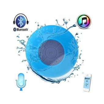 enceinte waterproof bluetooth plage douche piscine bleu achat prix fnac. Black Bedroom Furniture Sets. Home Design Ideas