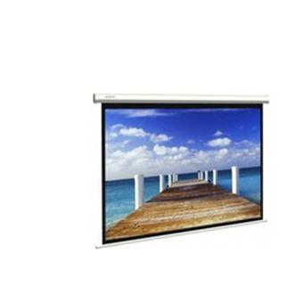 Ecran mural electrique 4 3 120 39 39 pour videoprojection for Ecran de projection mural