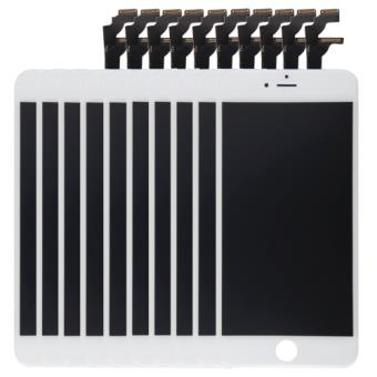 iphone 6 10 ecrans remplacement complet vitre tactile lcd blanc achat prix fnac. Black Bedroom Furniture Sets. Home Design Ideas