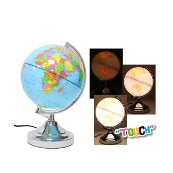 lampe 39 touch 39 globe terrestre lumineux achat prix fnac. Black Bedroom Furniture Sets. Home Design Ideas