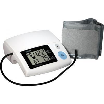 La flexibilité d´un appareil mobile et le confort du fixe : ce tensiomètre pour bras est extrêmement simple à utiliser et peut être utilisé partout grâce à son alimentation à piles. Son grand écran facilite la lecture, alors que la mémoire de 99 prises de