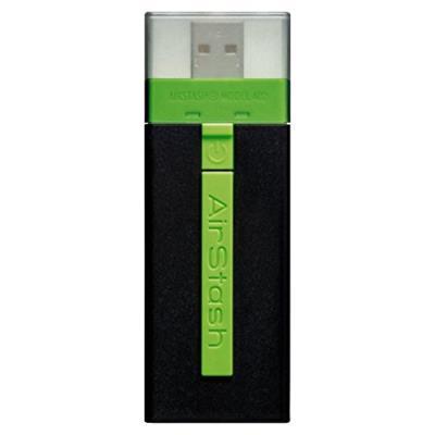 Maxell AirStash SDHC Clé USB flash drive Noir/vert 16 Go Couleur : Multicolore - Noir/vert