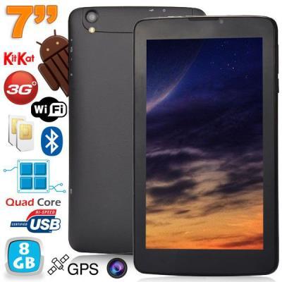 Découvrez vite cette tablette 3G 7 pouces Android qui vous fera bénéficier de toutes les performances et composants d´une tablette 7 pouces haut de gamme. Créée dans le but de satisfaire toutes les utilisations, vous allez vivre une nouvelle expérience, t