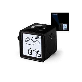 radio r veil cube noir avec projecteur station m t o et connecteur mp3 achat prix fnac. Black Bedroom Furniture Sets. Home Design Ideas