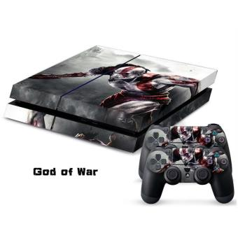 Sticker collant ps4 manettes god of war achat prix for God of war 3 jardines superiores