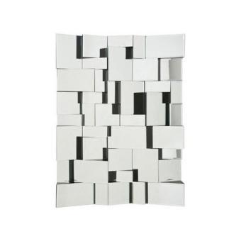 Miroir design involuto 80 x 60 cm achat prix fnac for Prix miroir 50 x 60