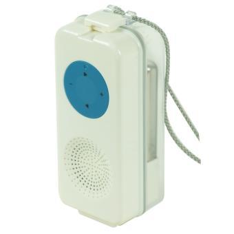 Haut parleur tanche bleu pour ipod et lecteur mp3 achat for Haut parleur etanche pour piscine