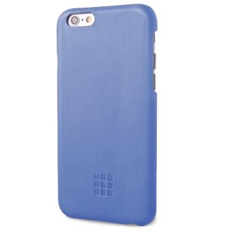 coque moleskine apple iphone 6 bleu achat prix fnac. Black Bedroom Furniture Sets. Home Design Ideas
