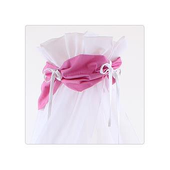 ciel de lit rose fonce pour lit berceau cododo babybay. Black Bedroom Furniture Sets. Home Design Ideas