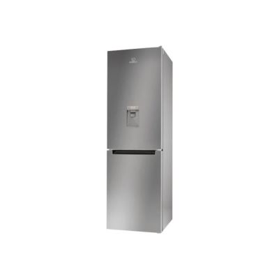 Indesit LR8 S1 S AQ - réfrigérateur / congélateur - congélateur bas - pose libre - argenté(e)
