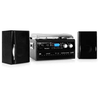 auna cha ne hifi st r o double cd enregistreur cassettes vinyles aux achat prix fnac. Black Bedroom Furniture Sets. Home Design Ideas