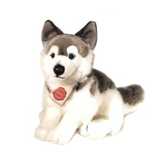 peluche chien husky assis 29 cm achat prix fnac. Black Bedroom Furniture Sets. Home Design Ideas