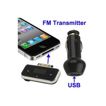 mini transmetteur fm iphone 4 4s 3g 3gs ipod chargeur usb achat prix fnac. Black Bedroom Furniture Sets. Home Design Ideas