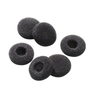 Vivanco EP2018B Lot de 3 paires de coussinets en mousse pour écouteurs Noir Ø 18 mm