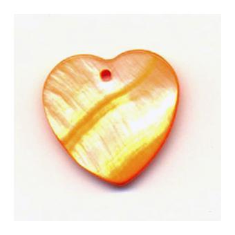boutons nacr s coeur orange 16 pi ces achat prix fnac. Black Bedroom Furniture Sets. Home Design Ideas