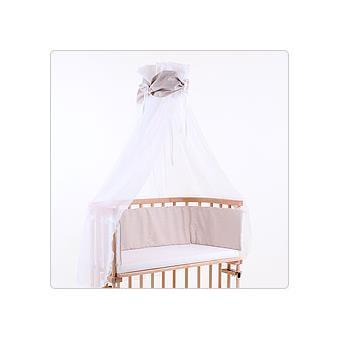 ciel de lit brun pour lit berceau cododo babybay achat prix fnac. Black Bedroom Furniture Sets. Home Design Ideas