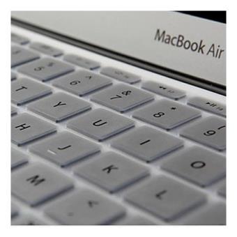 protection clavier qwerty silicone macbook air 13 et macbook pro retina 13 3 et 15 4 pouces. Black Bedroom Furniture Sets. Home Design Ideas