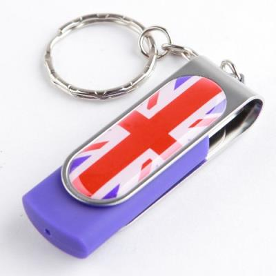 Ricco Clé USB 2.0 Motif drapeau 8 Go USB STICK UK - UK Couleur : - UK