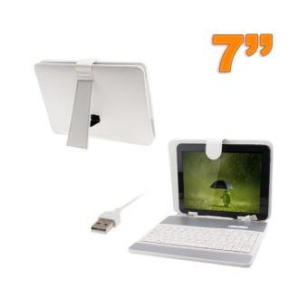 housse clavier universelle tablette tactile 7 pouces usb. Black Bedroom Furniture Sets. Home Design Ideas