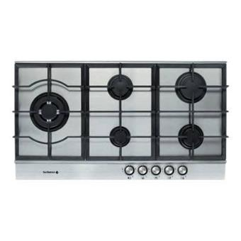 De dietrich dte1192x table de cuisson au gaz 90 cm - Table de cuisson 90 cm gaz ...