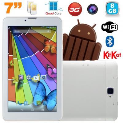 Cette tablette tactile 3G Quad Core Android vous offrira toutes les qualités et performances d´une tablette 7 pouces haut de gamme: des composants affutés et alliés à une connectivité optimale tout en restant très fine et légère. Développée pour toutes le