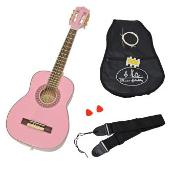 ts ideen 5282 guitare pour enfant taille 1 4 avec housse. Black Bedroom Furniture Sets. Home Design Ideas