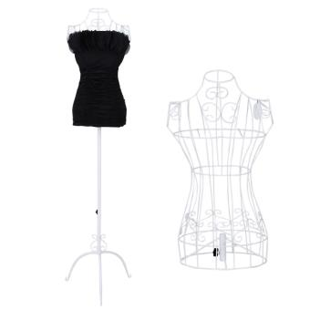 buste de couture hauteur r glable mannequin femme porte v tement blanc 3512001 achat prix fnac. Black Bedroom Furniture Sets. Home Design Ideas